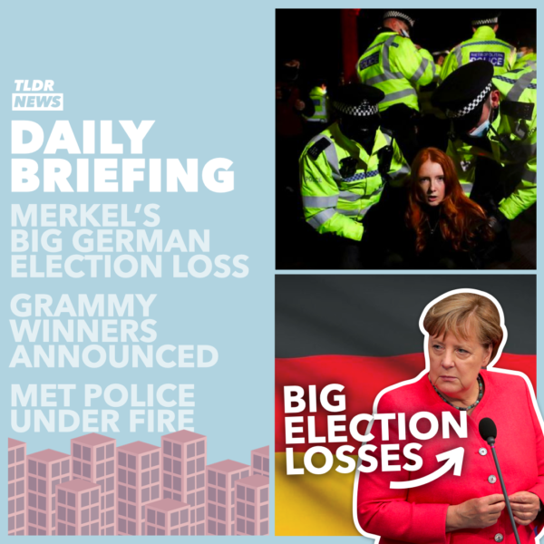March 15: MET Police Under Fire, New Protest Rules, The German Election, and the Grammy's