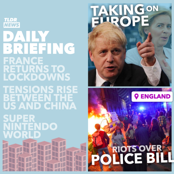 Mar 22: The PM vs the EU, Bristol Riots, IKEA on trial, and AI vs Scammers 3
