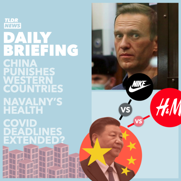 Mar 25: China's Sanctions on H&M, Navalny's Health, and COVID Rule Extensions 3