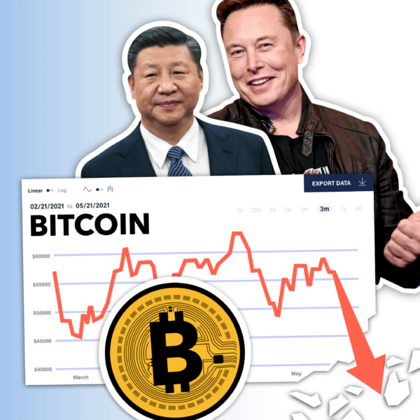 The Crypto Crash: How Elon Musk and China Crashed the Price of Cryptocurrencies
