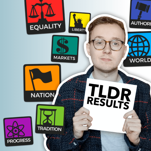8values Political Test Explained: What Was TLDR News' Results?