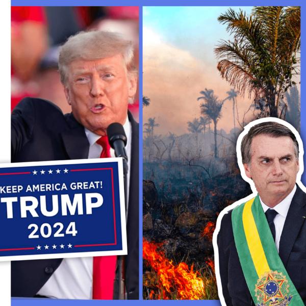 Trump's Back (for 2024?), Brazil's Rainforest Corruption Scandal & Hungary's LGBTQ+ Law