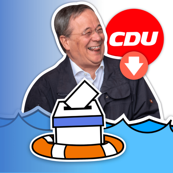 How Germany's Floods will Impact the Election: CDU Polling Drop